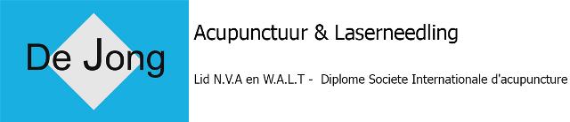 De Jong Acupunctuur & Laserneedling Logo